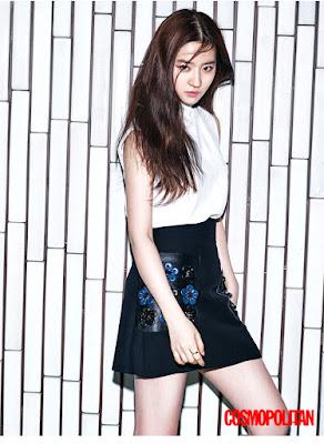 Yoo Yuk Bi - Cosmopolitan Magazine April Issue 2016