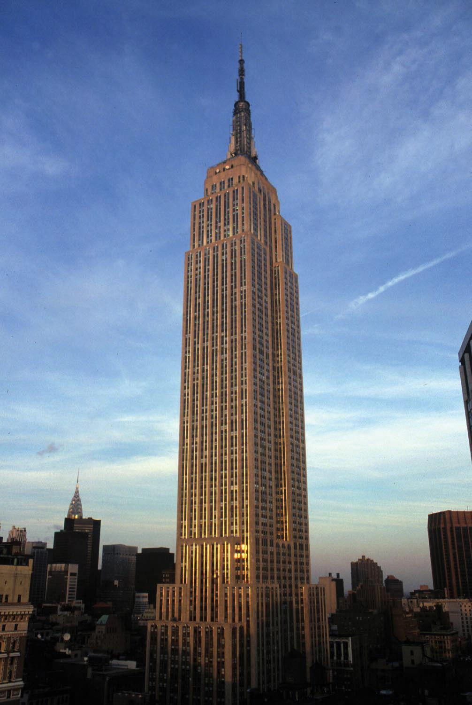 Especiesdeespaciosenconstrucción Empire State Building