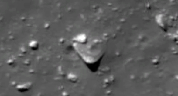 UFO News ~ TR3B UFO Found Crashed In Ryder Crater, Moon ...