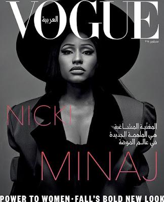 Nicki Minaj is coverstar for Vogue Arabia