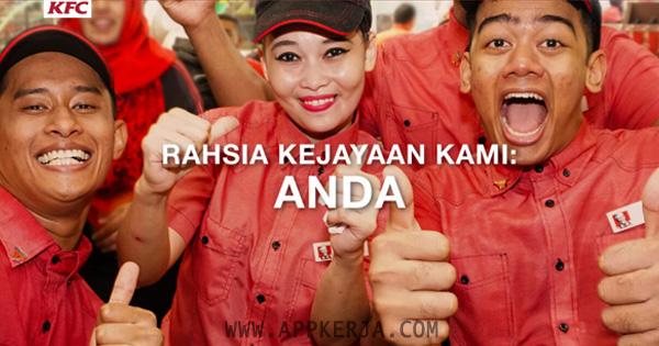 Jawatan Kosong di KFC Malaysia - 13 Mei 2018