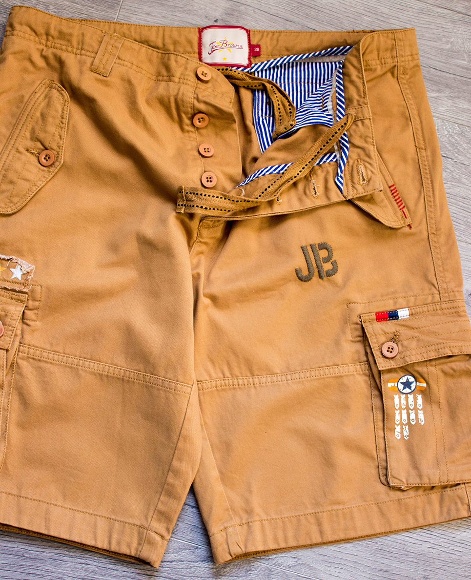 Jo Browns Crazy Cargo Shorts