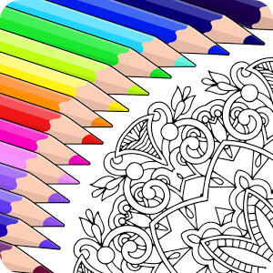 Colorfy Is The Free Addictive Coloring Book For Adults On Android Start Books Now Children Can Also Enjoy Pictures Of Mandala Flowers