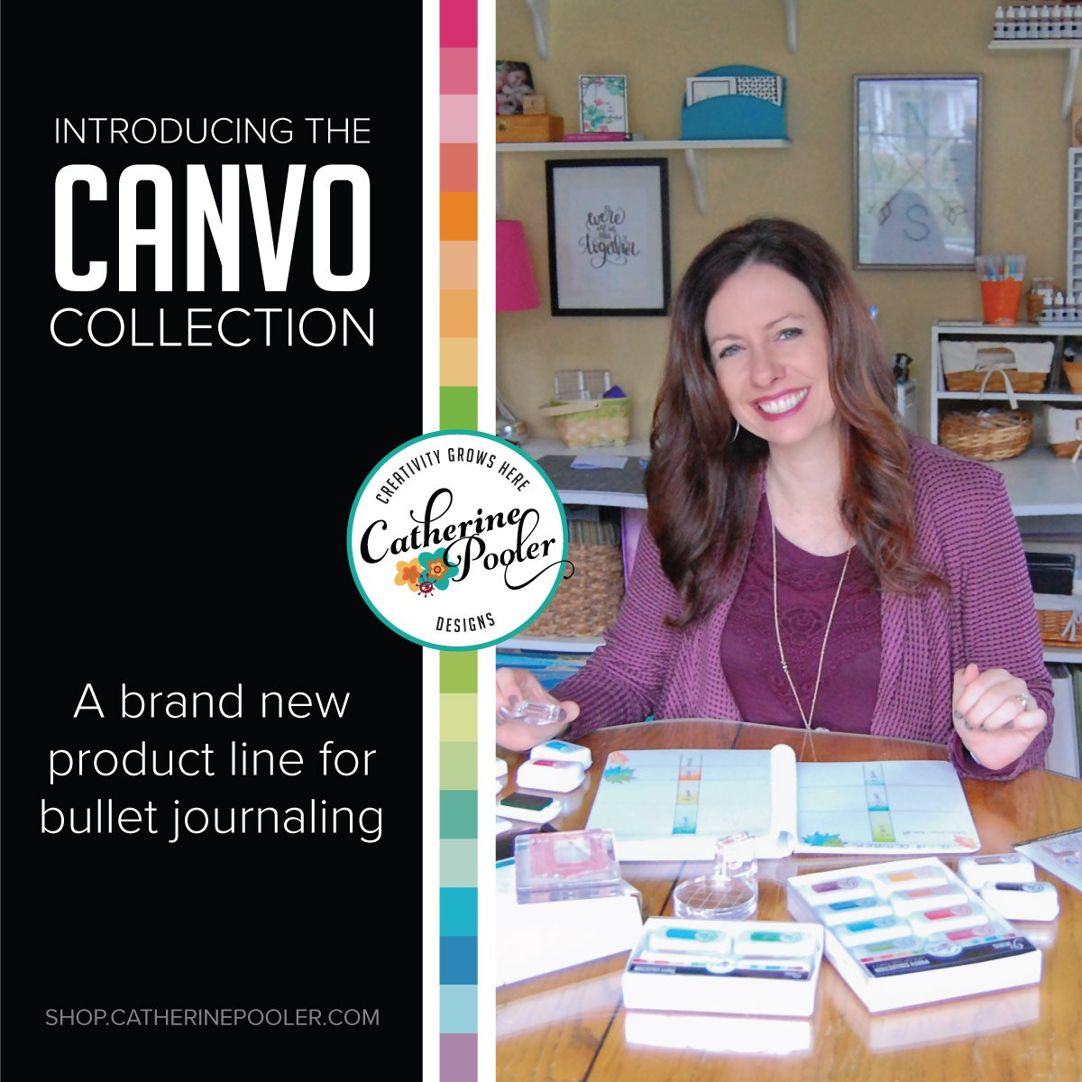 CANVO & MINI INK PADS AVAILABLE NOW!!!