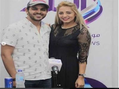 محمد رشاد, مي حلمي, أزمة زفافهما,