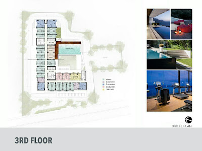 Floor plan evencio, floor plan apartemen, 3rd floor, Lantai 3