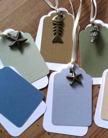 handmade charm gift tags