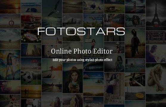 Edit Foto Online Dengan Berbagai Efek Fotostars