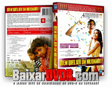 Quem Quer Ser um Milionário? (2008) DVD-R Oficial
