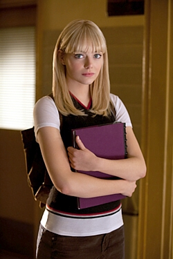Emma Stone as Gwen Stacy in The Amazing Spider-Man press pack publicity still