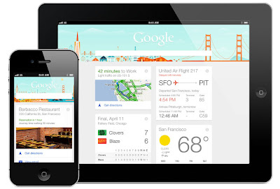 Google Now for iPad and iPhone