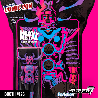 New York Comic Con 2017 Exclusive Jack Kirby's Lord of Light Midnight God Edition ReAction Figure by Super7 x Heavy Metal