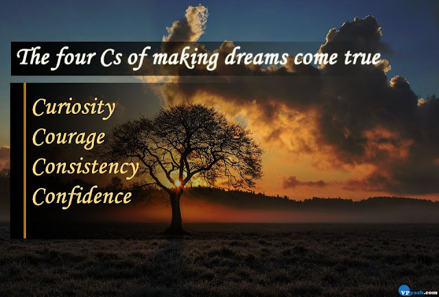 The four Cs of making dreams come true  Walt Disney Quotes