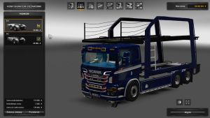 Scania P400 Car Transporter with no cars v 2.0