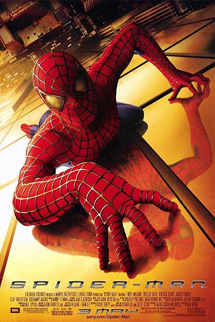 poster Spider Man 2002 Full Movie Download Dual Audio Hindi 720p