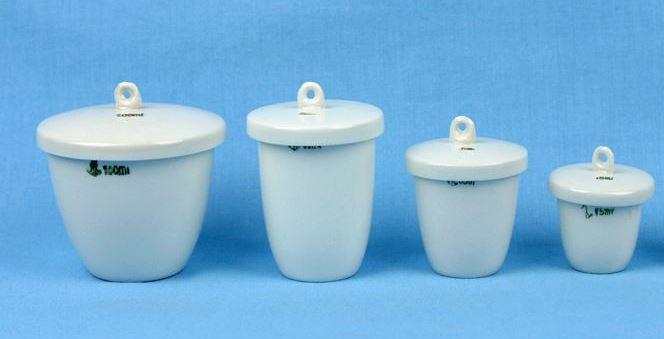 Alat Peraga Kimia Krusibel Porselen