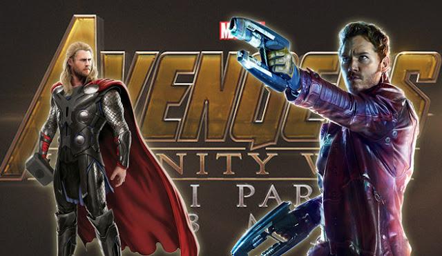 Vingadores Thor Senhor das Estrelas