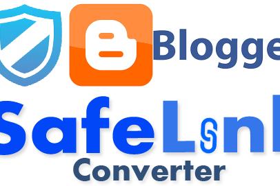 Cara Membuat SafeLink Di Blog Utama Dengan Mudah