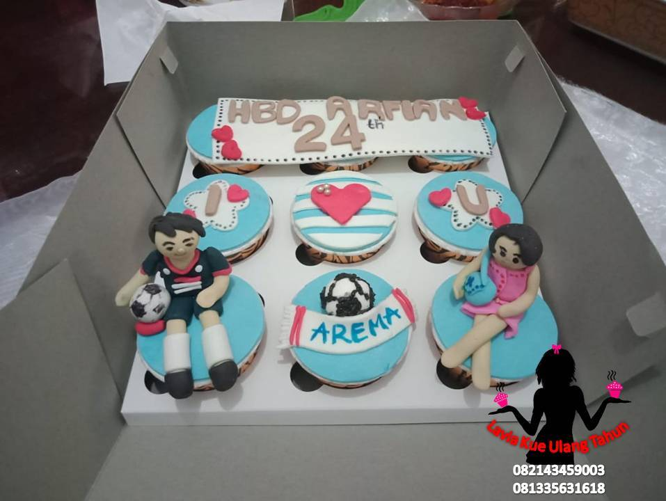 Kue Ulang Tahun Sidoarjo Surabaya Cupcake Ulang Tahun Buat