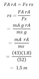 حل المسائل التدريبية لدرس ديناميكا الحركة الدورانية >الجزء الثاني<