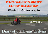 , Mark Warner Active Family Week 3:  Get Sporty