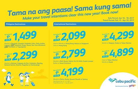 Cebu pacific promo april 2017