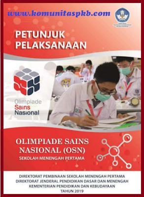 Download Petunjuk Pelaksanaan OSN (Olimpiade Sains Nasional) SMP Tahun 2019