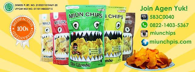 Peluang Usaha menjadi agen Miun Chips