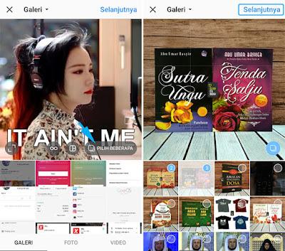 Upload 10 Foto dan Video di Instagram