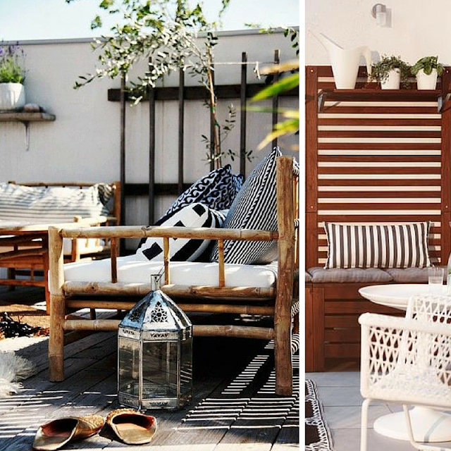 Balcony decoration ideas • the round button blog