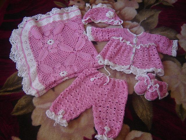 Set crochet Pattern Free - Learn how to make