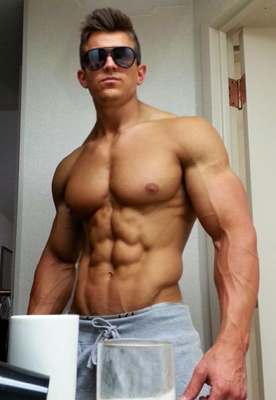 aesthetic muscle, bodybuilder, great abs, male fitness model, male ...