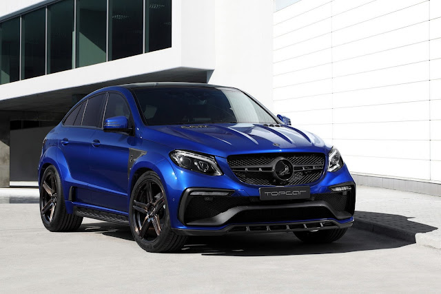TopCar Mercedes-Benz GLE Coupe In Blue Gem - #TopCar #Mercedes #Coupe #tuning