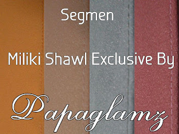 Segmen Miliki Shawl Exclusive By Papaglamz Secara PERCUMA