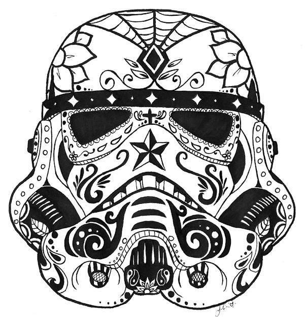 Sugar Skull Coloring Page With Good Sugar Skull Coloring Pages For Adults  In Candy Pages
