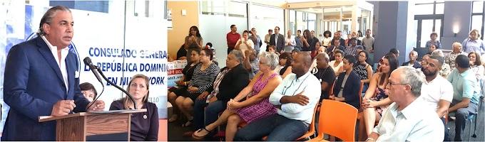 Consulado en Nueva York realiza jornada de servicios por cuatro días en Pensilvania