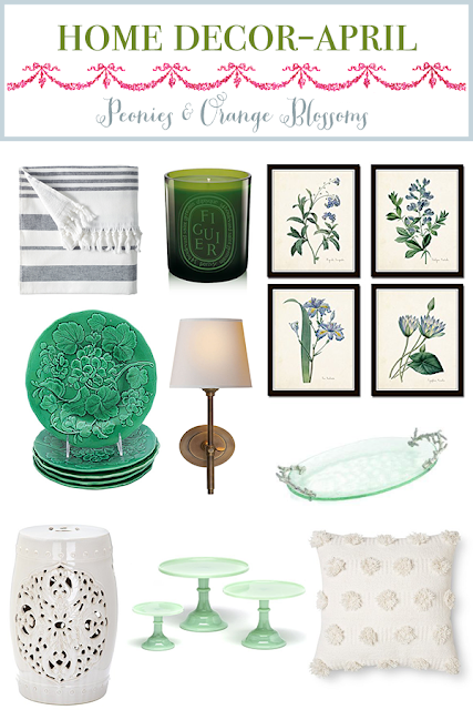 April Home Decor Favorites