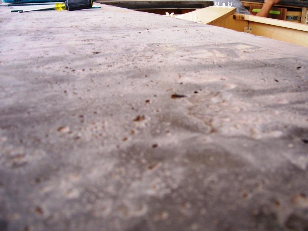 Creating Concrete Countertops How To Avoid Bug Holes Pin Holes And Other Nasty Surface Imperfections In Concrete Countertops