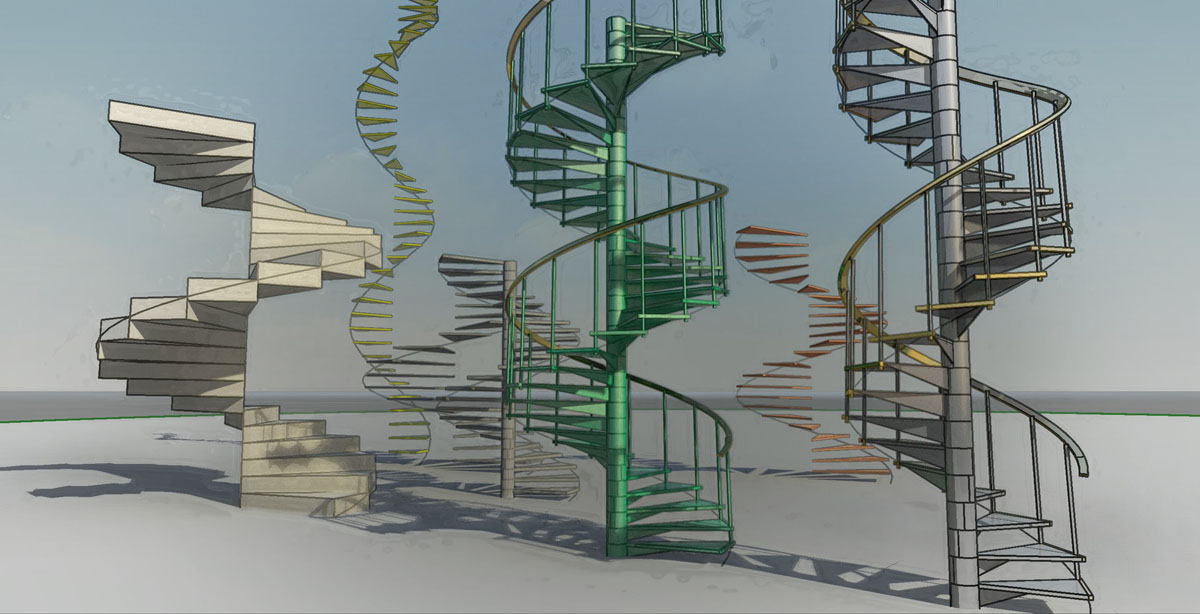 Shades Of Grey Adaptive Spiral Stairs   Changing Spiral Stairs To Normal Stairs   House   Space Saving   Staircase Design   Handrail   Building Regulations