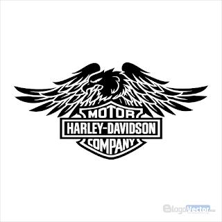 Harley Davidson Eagle Logo vector (.cdr)
