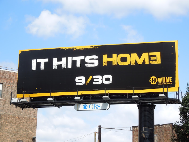 Homeland 2 It hits home teaser billboard