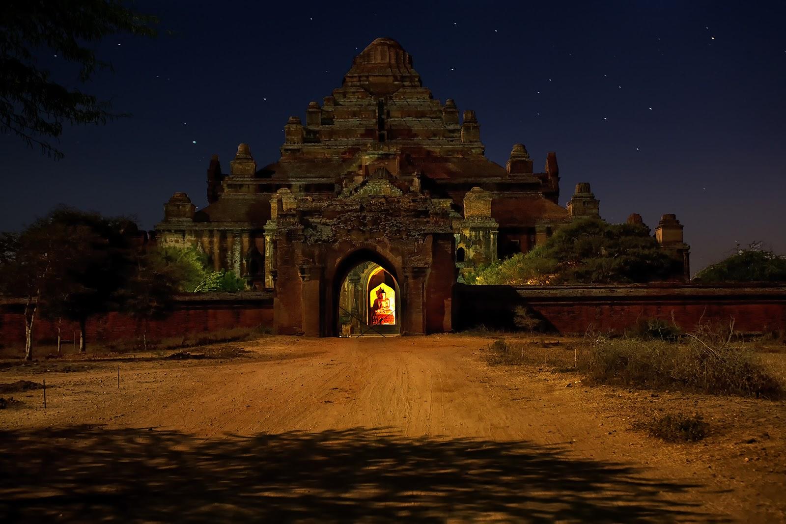 pagoda,zachód słońca,bagan,birma