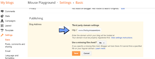 Easy Instructions for How to Change a Blogger URL to a Custom Domain URL