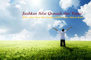 Keajaiban Memiliki Sifat Qanaah dan Tidak Tamak