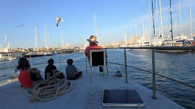 Pescaturismomallorca La vista de la catedral de Palma pone fin a la aventura