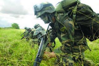 soldado colombiano, México, USA, Colombia, Bogotá,