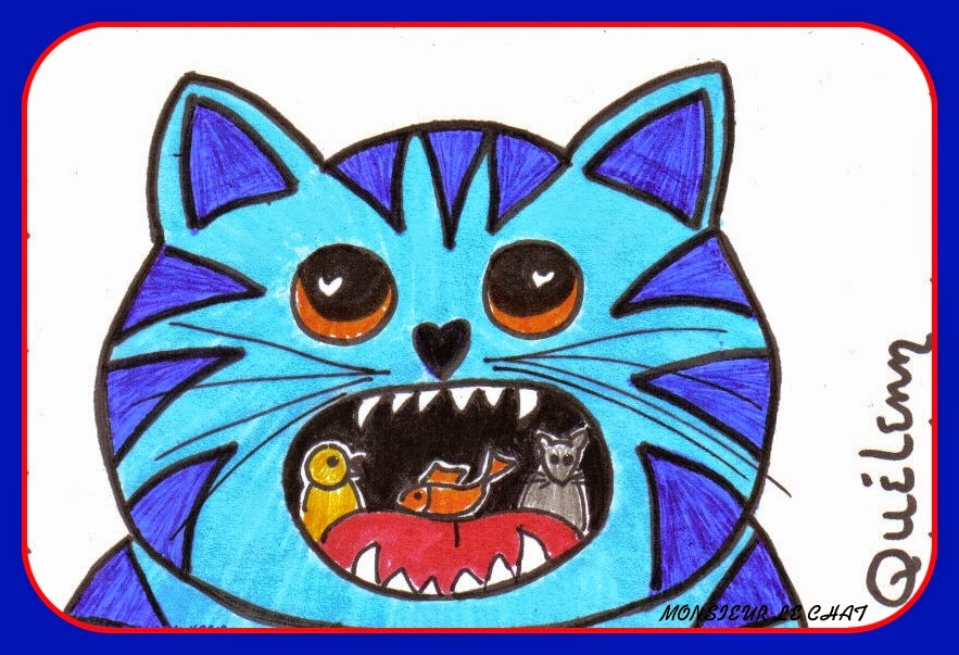 Monsieur LE CHAT, dessin