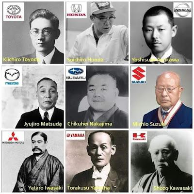 nama-nama pendiri perusahaan otomotif dunia