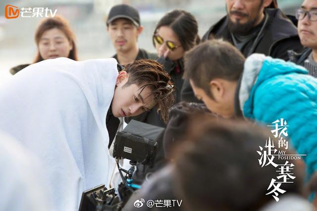 My Poseidon Leon Zhang Yunlong wraps filming
