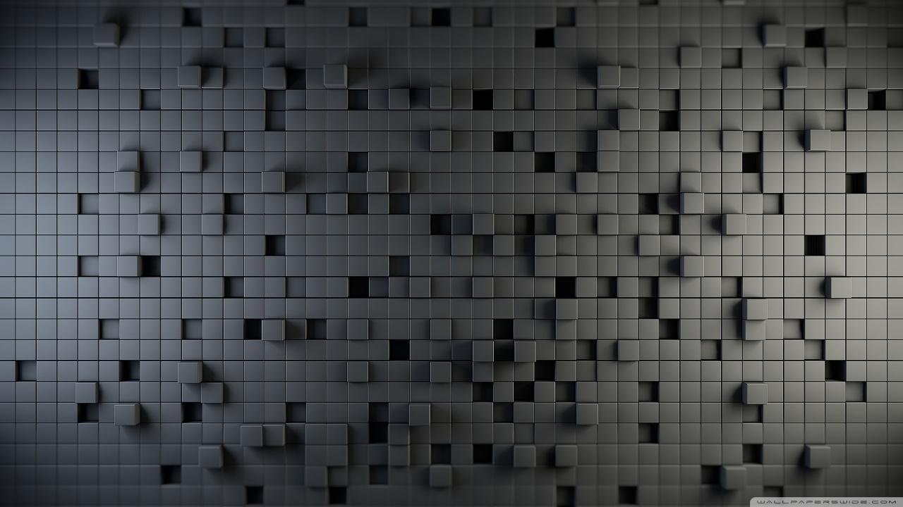 Background keren 3d Cubes